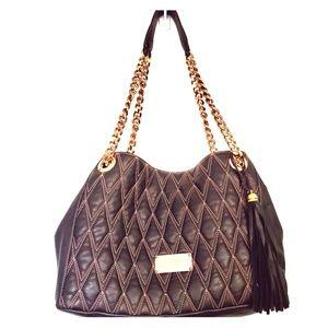 Valentino Luisa Bag D Black w/ Rose Gold hardware